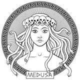 Méduse Gorgon Image libre de droits