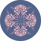 méduses sur un fond bleu Silhouette animale Image libre de droits