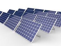 Méga solaire Photos stock