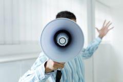 Mégaphone Photographie stock libre de droits