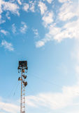 mégaphone Photo stock