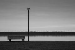 Mélancolie dans la lagune Photographie stock