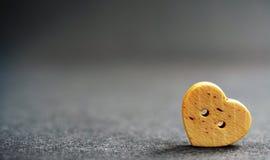 Mélancolie isolée de peine de tristesse de coeur photo stock