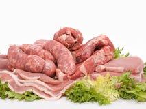 Mélangé de la viande photographie stock