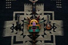 Mélange culturel de roche andine bizarre photos stock