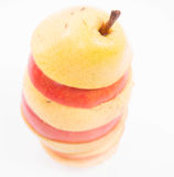 Mélange d'Apple et de poire Photos libres de droits