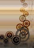 Mélange de cercle Images libres de droits