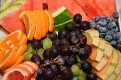 mélange de citron de fruit de glissières Photographie stock