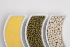 Mélange de différents haricots Photo stock