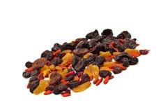 Mélange de divers fruits secs Photo stock