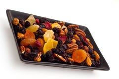 Mélange de divers fruits secs et noix Photos stock