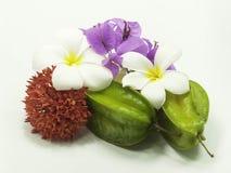 Mélange de fleurs photographie stock