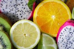 Mélange de fruit comestible différent Images stock