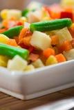 Mélange de légumes de ?hopped photos libres de droits