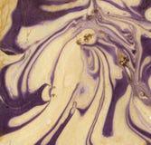 Mélange de peinture Photo libre de droits