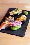Préparation de sushi de Nigiri Images stock