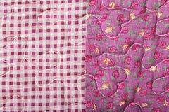 Mélange de texture de tissu des modèles Photo stock