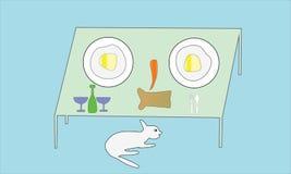 Mélange des légumes, du pain, du fromage et du vin sur un fond blanc Photo libre de droits
