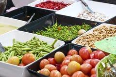Mélange des nourritures. Image libre de droits