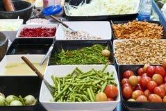 Mélange des nourritures. Images stock