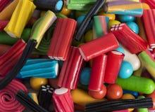 Mélange des sucreries avec différentes couleurs Photographie stock libre de droits