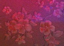 Mélange du rose, couleurs roses et lilas sur le papier peint image libre de droits