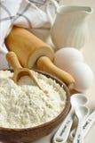 Mélange gratuit de farine de gluten fait maison Photo libre de droits