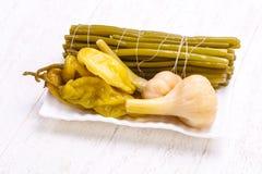 Mélange mariné de légumes Image libre de droits