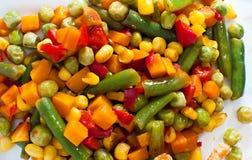 Mélange mexicain des légumes Image libre de droits