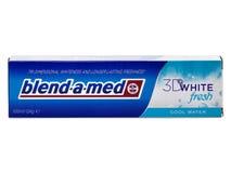 Mélange-un-med pâte dentifrice, frais 3D blanc Images libres de droits