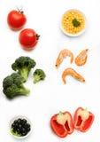 Mélange végétarien images libres de droits