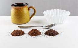 Mélanges de café image libre de droits