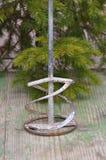 Mélangeur à pales utilisé de foret photo stock