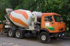 Mélangeur concret Image stock