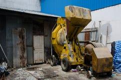 Mélangeur concret Images stock