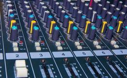 Mélangeur d'amplificateur Photos stock