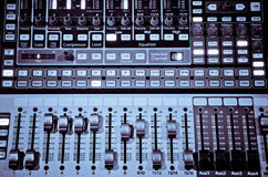 Mélangeur 1 de musique photo libre de droits