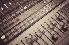 Mélangeur 1 de musique photos libres de droits