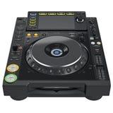 Mélangeur de plaque tournante de Digital DJ Photos libres de droits