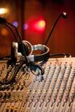 Mélangeur du DJ Photographie stock