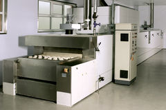 Mélangeur industriel de la pâte Image stock