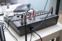 Mélangeur sain du DJ Image libre de droits