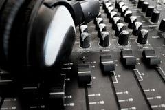 Mélangeur sonore Photos libres de droits