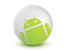 Mémoire androïde - golf Image libre de droits
