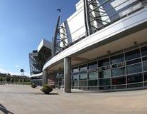 Mémoire d'équipe de Broncos, stade d'autorité de sports Images libres de droits