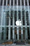 Mémoire d'Apple sur la 5ème avenue Photographie stock