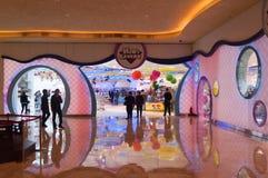 Mémoire de caverne d'enfant au Macao Images libres de droits