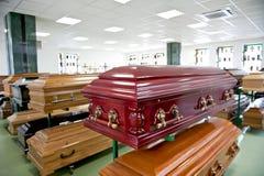 Mémoire de cercueil Photos libres de droits