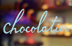 Mémoire de chocolat Image libre de droits