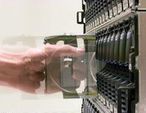 Mémoire de données Image stock